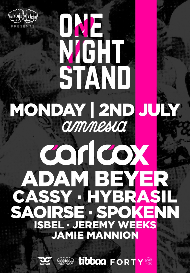onenightstand Amnesia 2nd july